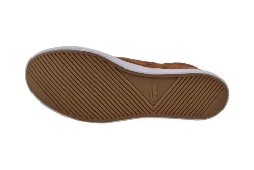 Lacoste Marcel WD SPM tan//dark blue Seaker//Schuhe braun