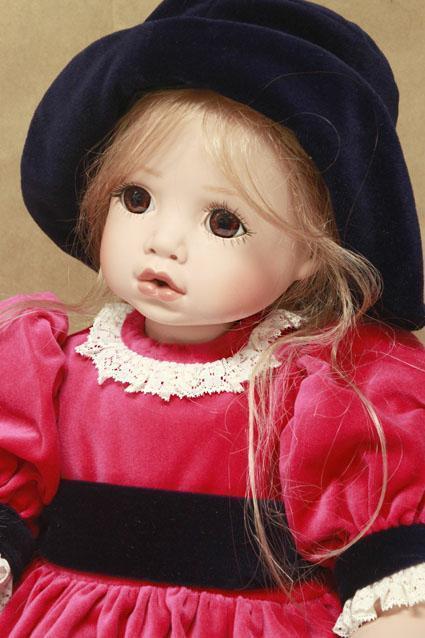 Elizabeth-vinilo muñeca por Celia Muñecas, Edición Limitada
