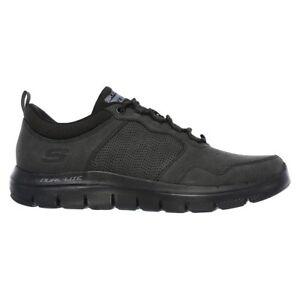 Details about Skechers Flex Advantage 2.0 Dali Shoes Black Men