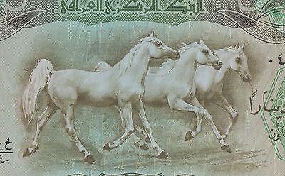 IRAQ 25 DINAR 1980 AH1400 UNC but aAU//UNC P-66b LARGE FORMAT,EUROPE PRINT