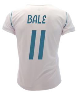 Maglia Calcio Ufficiale Real Madrid BALE 11 GARETH 2018 Camiseta