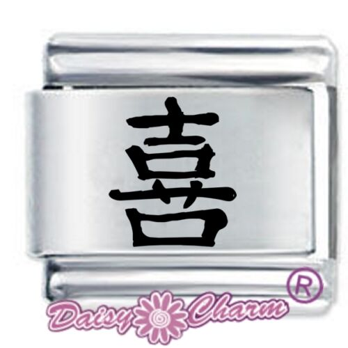Daisy Charms Fits Nomination Classic Size Italian Charm CHINESE HAPPINESS