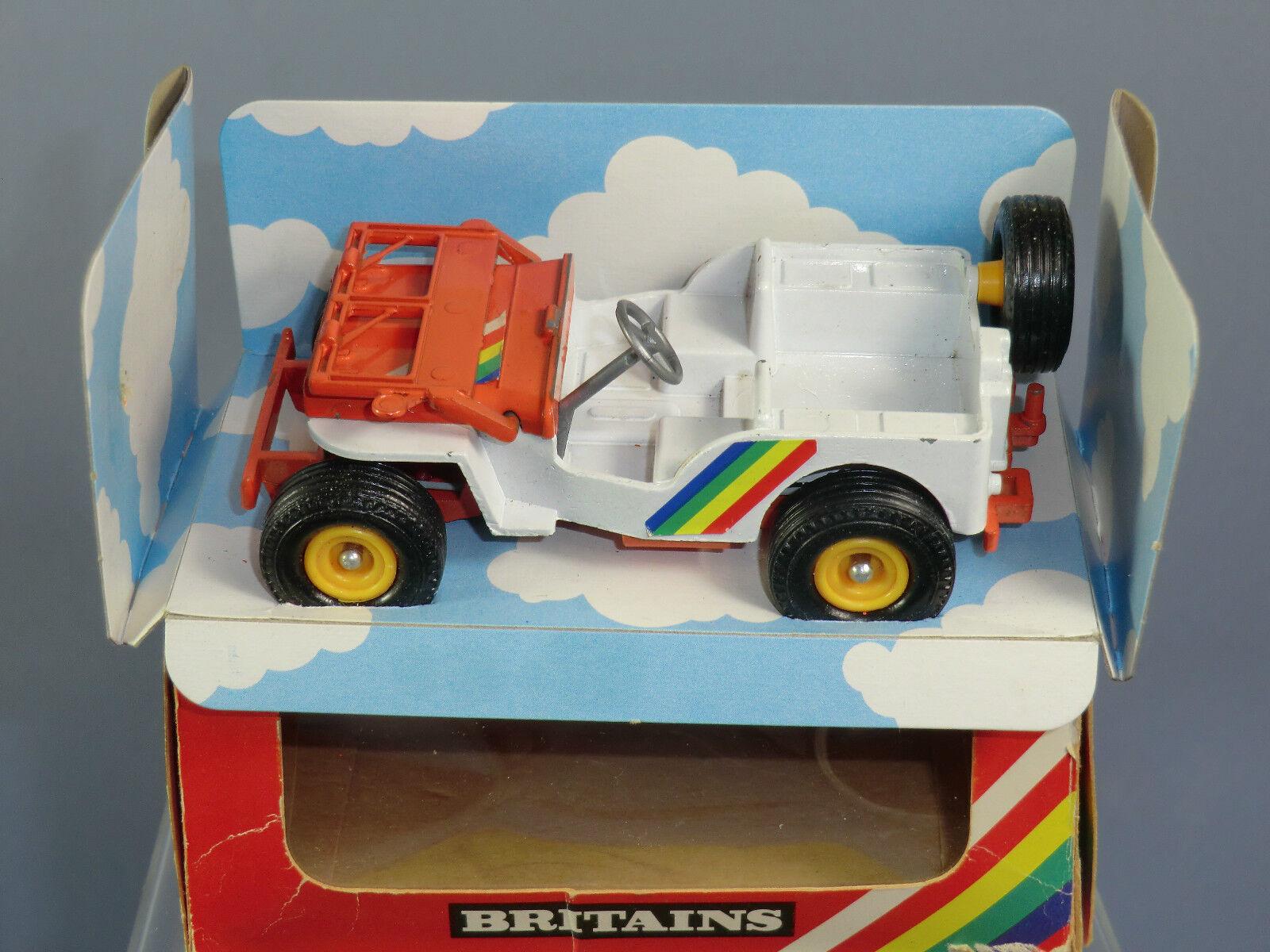 VINTAGE BRITAINS MODEL  No.9421                   JEEP                    VN MIB