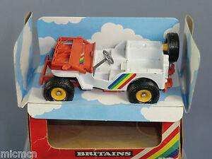 Vintage Britains Modèle No.9421 Vn Mib jeep