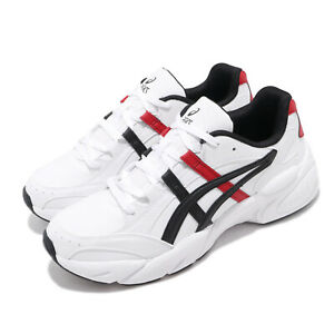 Asics-Gel-BND-White-Classic-Red-Black-Men-Casual-Chunky-Daddy-Shoes-1021A217-101