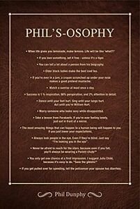 Phil's-osophy Poster: Life Lessons from Modern Family's ...