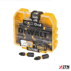 DeWalt DT70556T-QZ Extreme Impact Torsion embouts de Tournevis PZ2 x 25 mm Pack de 25