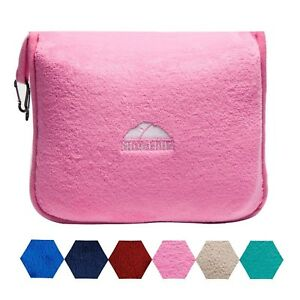 BlueHills-Premium-Soft-Pink-Travel-Blanket-Pillow-Airplane-Blanket-in-case