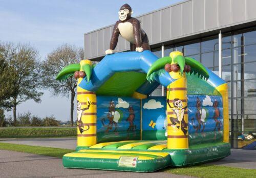 Tag !KEIN KAUF! Hüpfburg Profi Gorilla XL 5,2m x 4m x 4,5m Mieten für 100,00 €