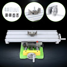 Compound Milling Machine Xy Axis Worktable Cross Slide Bench Drill Vise Tool Us