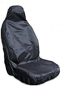 FORD FOCUS NEW SHAPE HEAVY DUTY WATERPROOF BLACK SINGLE CAR SEAT COVER