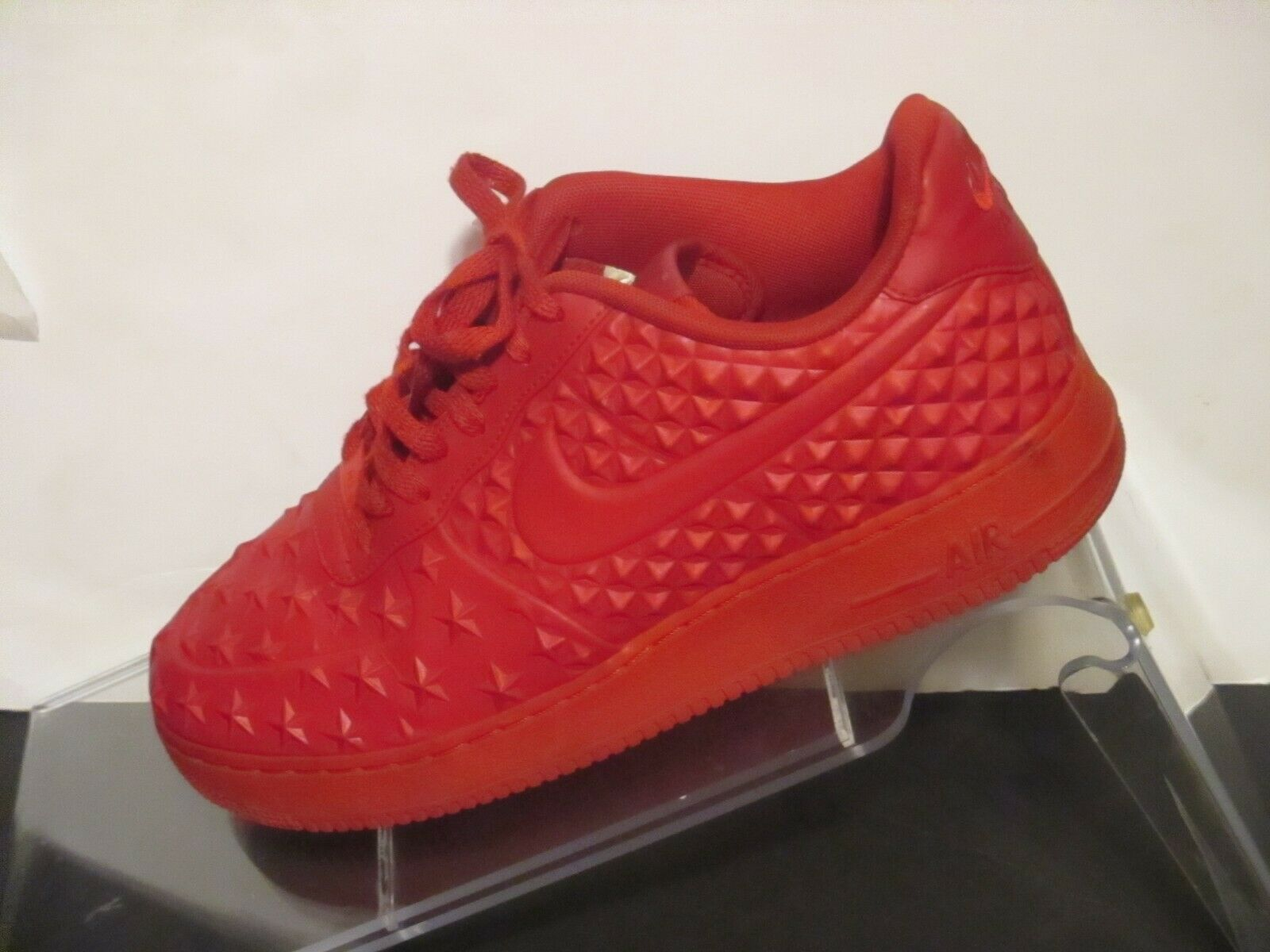 NIKE AIR FORCE 1 LV8 VT Independence Day Red 789104 600 Sneakers Sz 12 j133