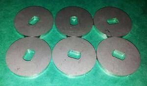 Dellorto-DRLA-36-40-45-48-DHLA-2mm-Spindle-Spacer-Washer-Stainless-Steel-6-Pack