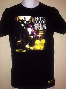 WU-TANG-CLAN-ENTER-THE-WU-TANG-20-YR-ANNIVERSARY-SMALL-T-SHIRT-RAP-HIP-HOP