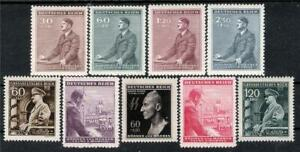Bohemia-amp-Moravia-4-Sets-Rarer-Issues-Hitler-Heydrich