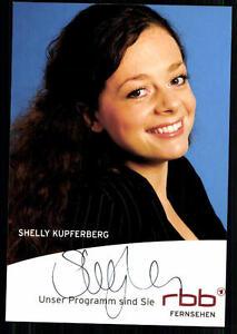 Shelly-Kupferberg-RBB-Autogrammkarte-Original-Signiert-BC-24372