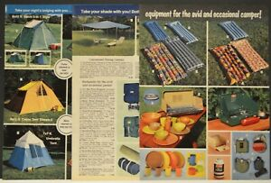 1976-Western-Auto-Ad-Coleman-Coolers-Tents-Canteens-Camping-Stove-Backpacks