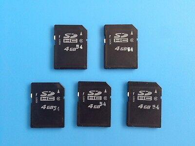 Frank 5 Stücksdhc 4gb Speicherkarten = 20 Gb