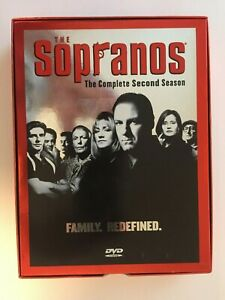 FREE-SHIPPING-The-Sopranos-The-Complete-Second-Season-DVD