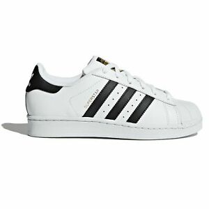 kinder shoes adidas white and black
