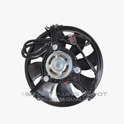 Radiator Cooling Fan Motor Audi VW Volkswagen Passat S8 A6 A8 Quattro New