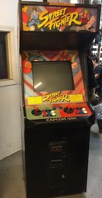 Street Fighter 1 Arcade Game The Original Ebay