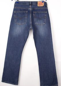 Levi's Strauss & Co Hommes 507 04 Jeans Jambe Droite Taille W33 L34 BCZ51