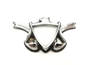 1970-1973-AMC-Ambassador-Arriere-Capuche-Cote-Embleme-Badge-Symbole-Logo-OEM