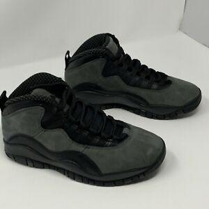 sports shoes bb5d7 dc479 Image is loading Air-Jordan-Retro-10-X-Dark-Shadow-Black-