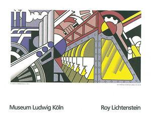 1969 -1989 Serigraph Roy Lichtenstein-Red Barn II