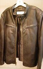 Andrew Marc MARC NEW YORK Mens XL Black Leather Jacket