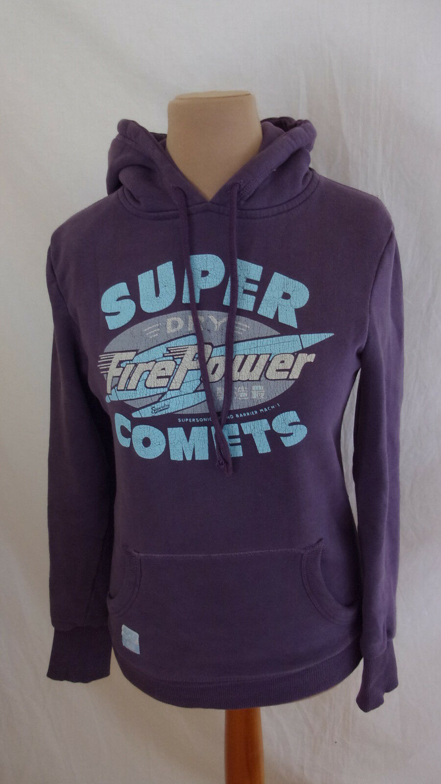 Sudadera Superdry purplea size S a - 48%