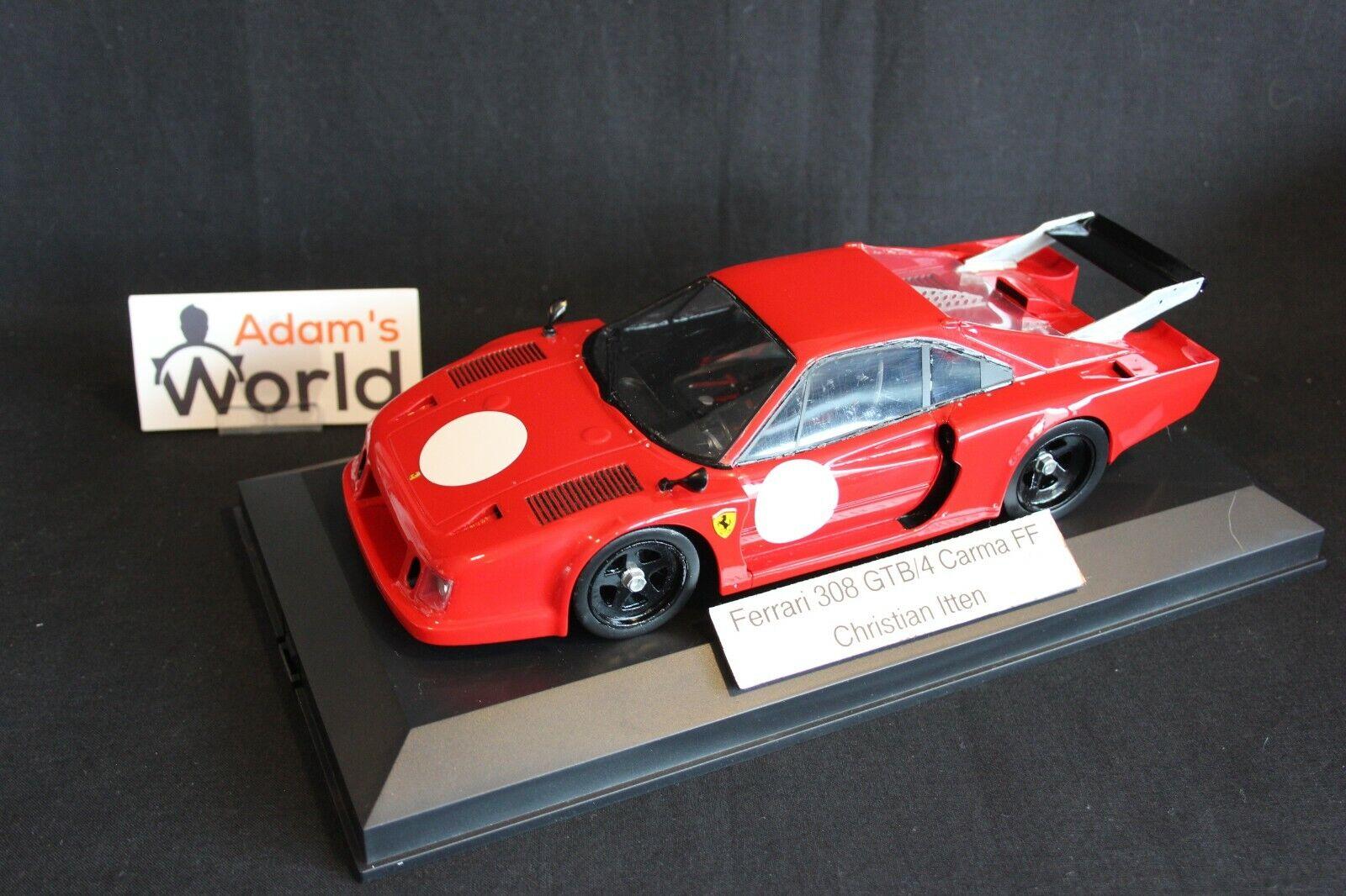Christian Itten Ferrari 308 GTB  4 bilma FF 1 18 röd (PJBB)