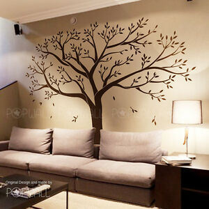 Giant family tree wall sticker vinyl art home decals room decor mural origina - Decor mural original ...