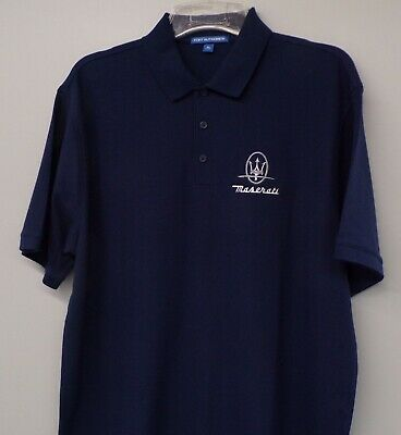 Ford Motors Logo Embroidered Mens Polo Sport Shirt XS-6XL LT-4XLT 17 Colors New