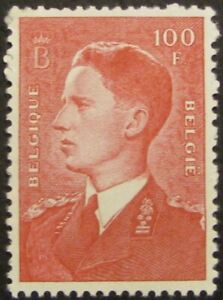 BELGIUM-450-F-VF-MNH-100fr-from-the-King-Baudouin-issue
