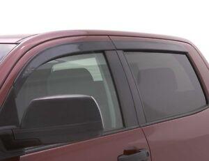 Auto-Ventshade-894033-Ventvisor-Low-Pro-Smoke-4Pc-14-15-Silverado-1500-Crew-Cab