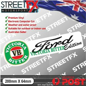 VB-Edition-Sticker-Decal-4x4-4WD-Beer-Ute-For-Ford-Falcon-Ranger-Barra-Focus-YTB