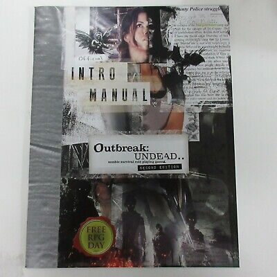 Outbreak Undead Gear Deck 2nd Edition Toys & Games Games ...