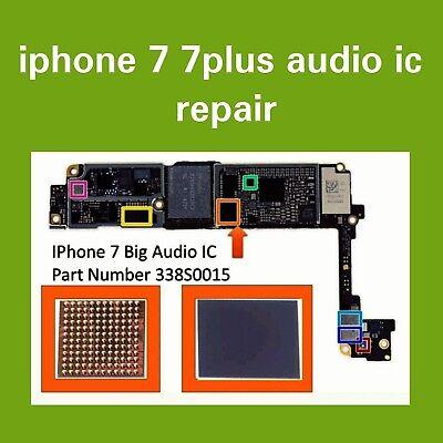timeless design e601e d3623 IPhone 7/7 Plus Audio IC No Mic/Speaker, Slow. Boot Repair Service   eBay