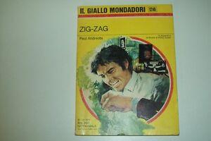 IL-GIALLO-MONDADORI-1248-PAUL-ANDREOTA-ZIG-ZAG-OTTIMO-LIBRO-RIVISTA-ELLERY-QUEEN