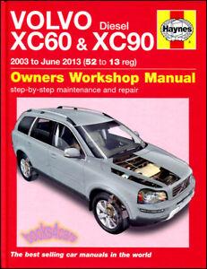 volvo xc60 xc90 shop manual service repair book haynes chilton rh ebay com 2008 volvo xc90 service manual pdf 2008 volvo xc90 owners manual