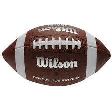 Wilson NFL Pattern Soft Grip American Football Official TDS Super Bowl NEU