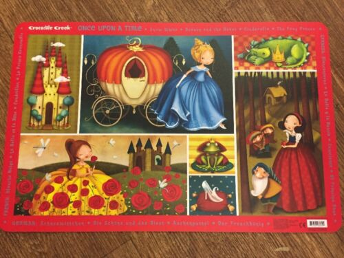 Children/'s Dinner Place Mats By Crocodile Creek Once Upon A Time