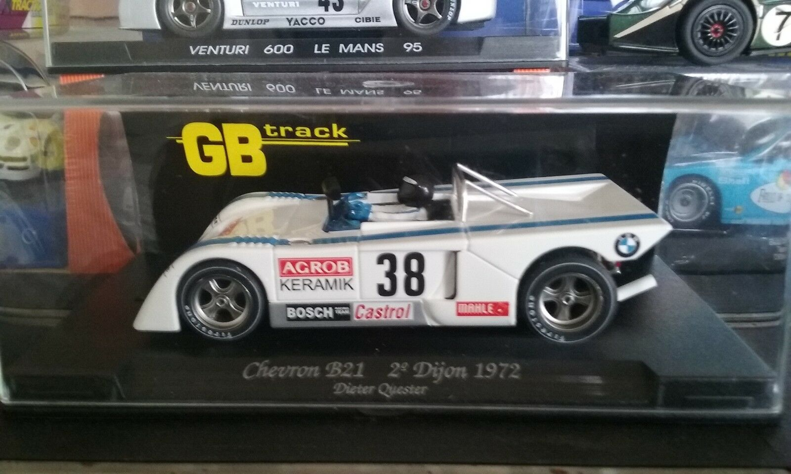 Fly GB  Chevron B21 2 Dijon 1972 (Dieter Quester )New