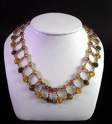 Offen Tolles Collier / Halskette - 925er Silber Hohe QualitäT Und Preiswert