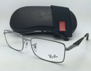 8a3960ccb30 New RAY-BAN Rx-able Eyeglasses RB 6284 2502 55-17 Silver Frames with ...