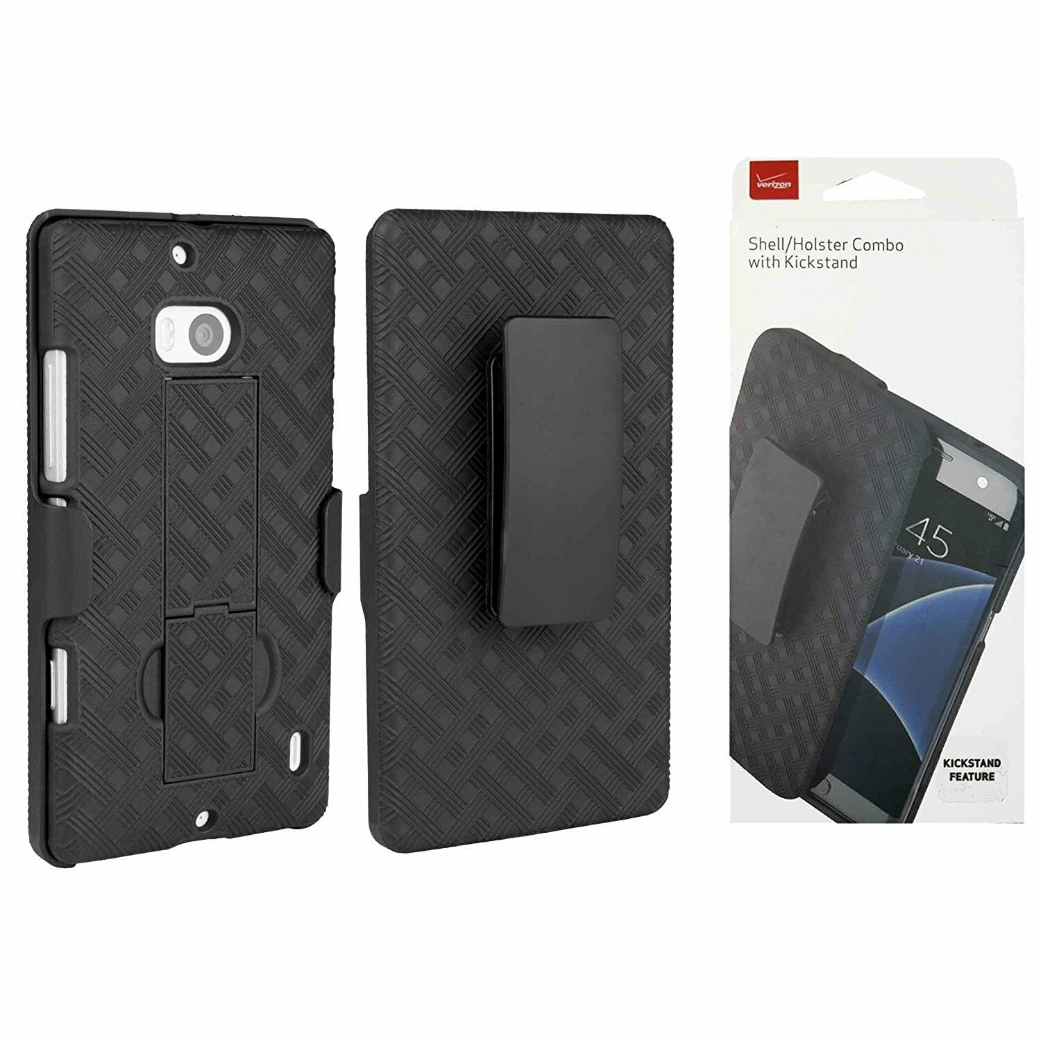 Verizon Shell Holster Combo Cover Case w/Kickstand for ...