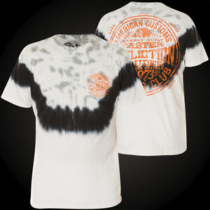 Garage shirt T Affliction shirts T Spirit Blanc wOEAccqa