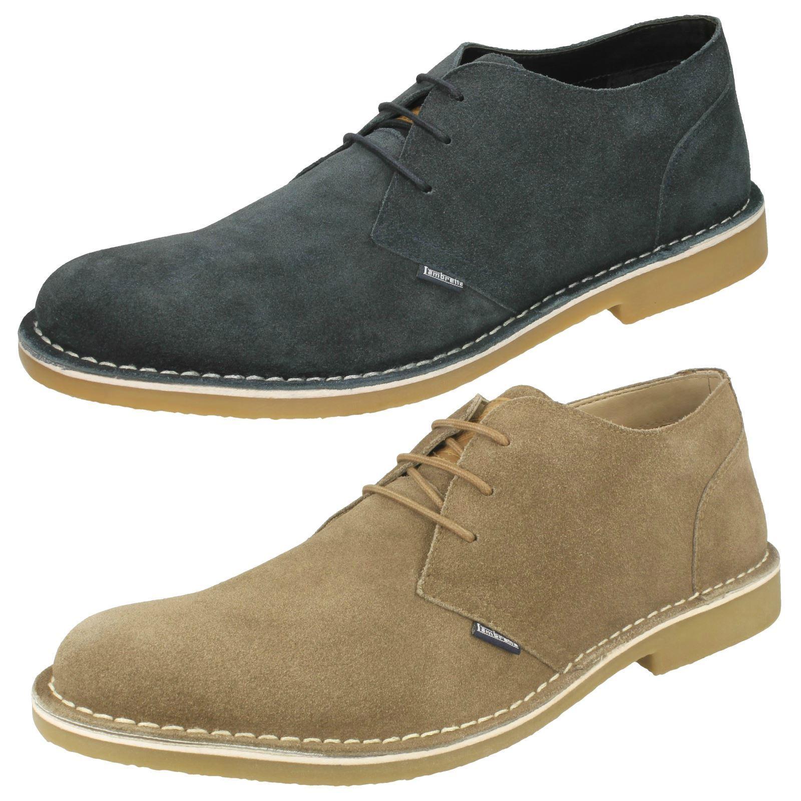 Mens Lambretta Stylish Smart Lace Up shoes Soho